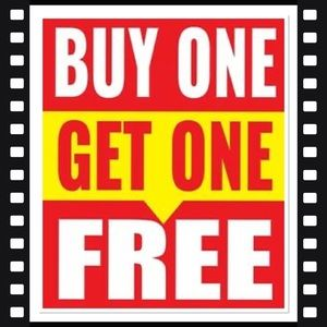 BUY ONE GET ONE FREE  (limited time only)